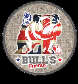 Partenaires Assur O'Poil, bullfriends bulldog, face plates