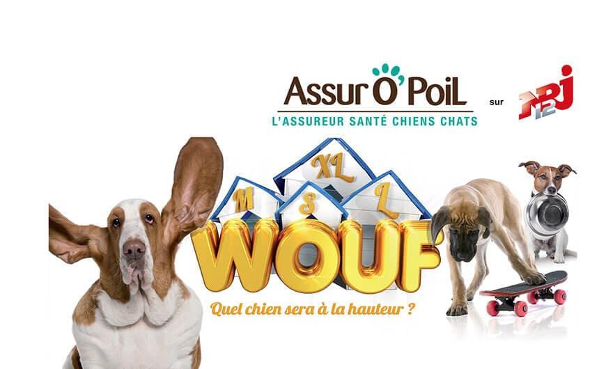 aAssur O'Poil, partenaire de NRJ12 pour l'émission Wouf
