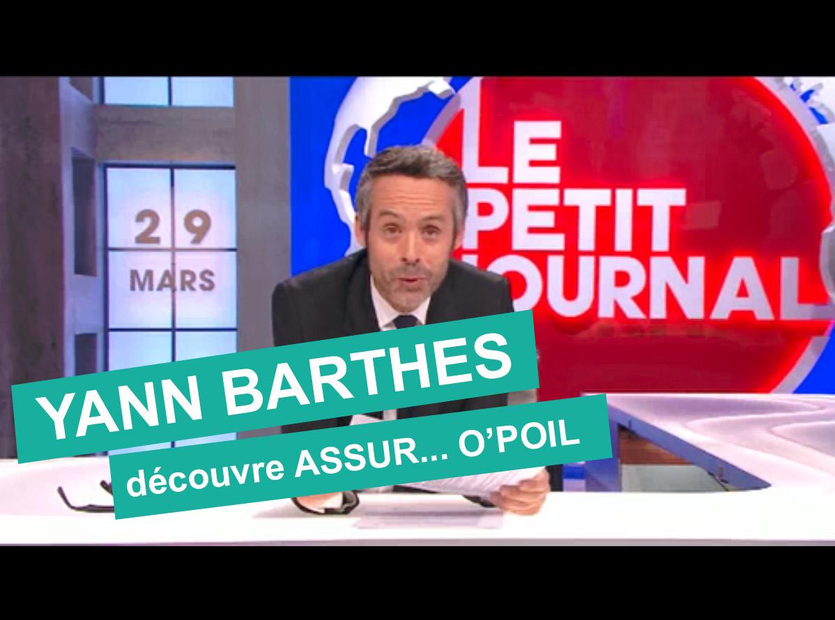 Actualité : Assur O'Poil sponsorise la météo de Canal + avec Yann Barthes