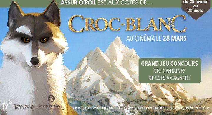 Croc-blanc le film