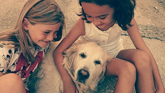 Épanouissement de l'enfant avec l'animal de compagnie pour son bien être