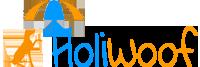 Logo holiwoof hebergement chien