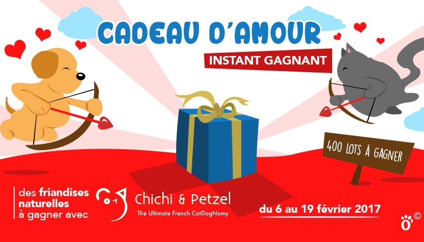 jeu concours saint valentin avec chichi petzel assur o 39 poil. Black Bedroom Furniture Sets. Home Design Ideas